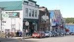 Bar Harbor - Läden in der Main Street