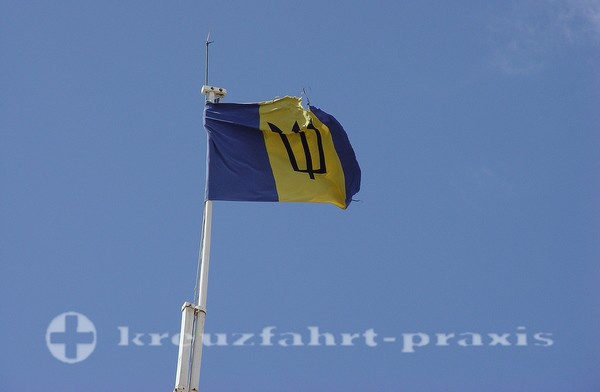 Barbados - Staatsflagge