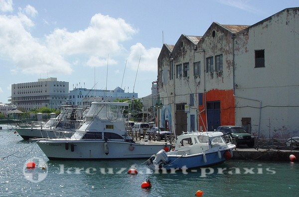 Barbados - Brigetown Wharf
