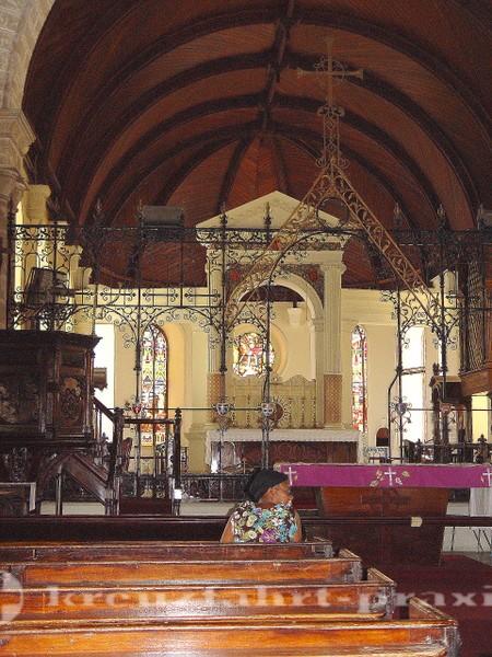 Barbados - Hauptschiff der Kathedrale
