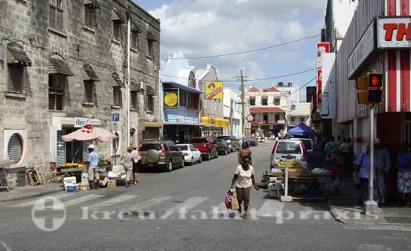 Barbados - Strassenszene