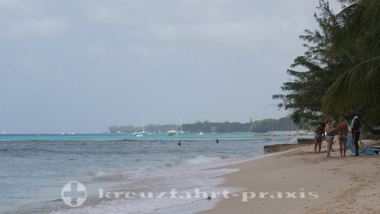Barbados - Strand bei Fitts Village