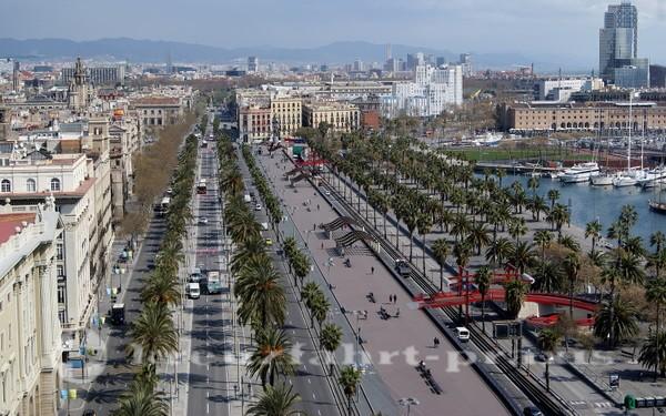 Barcelona Hafenpromenade