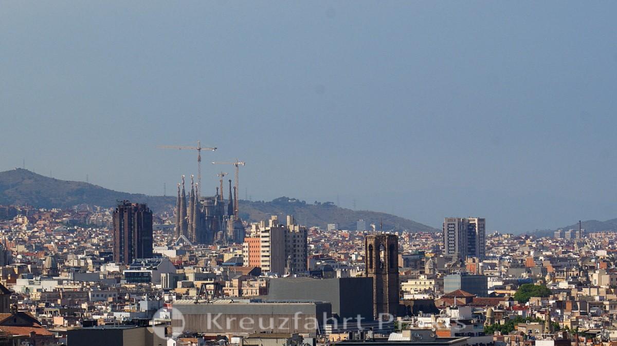 4 Stunden in Barcelona