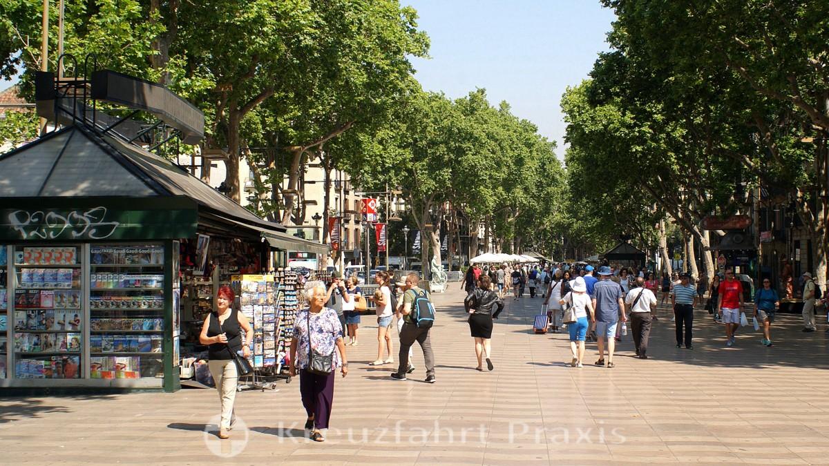 Barcelona - Flaniermeile La Rambla