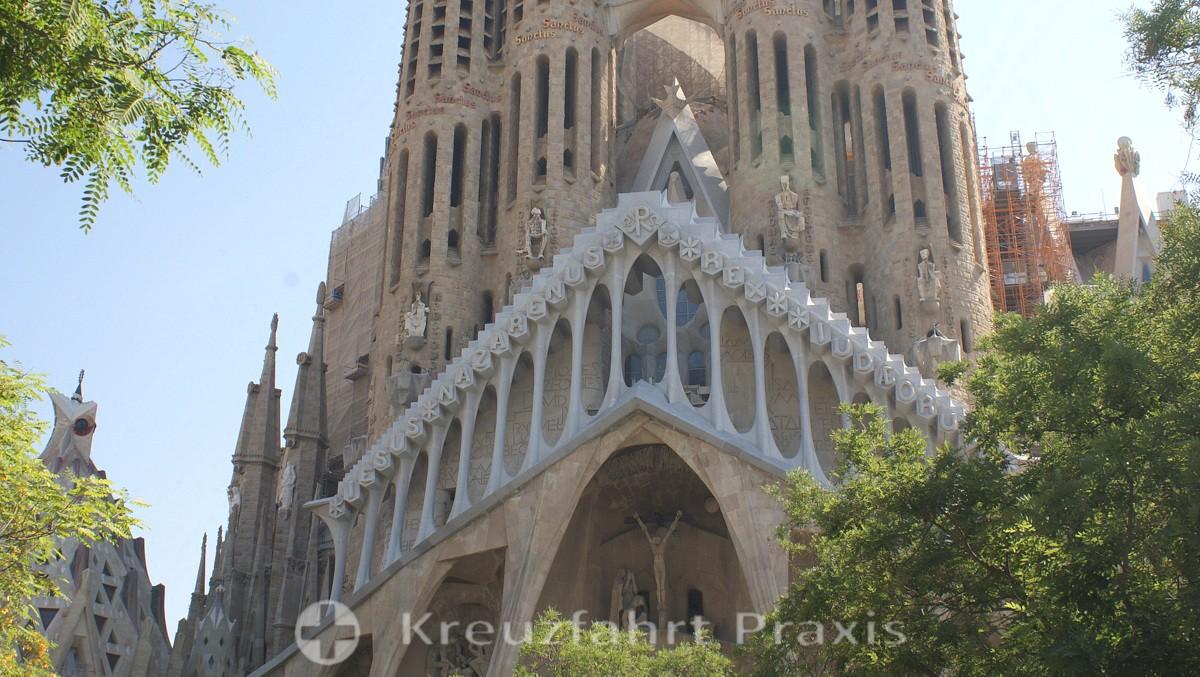 Sagrada Familia - facade detail
