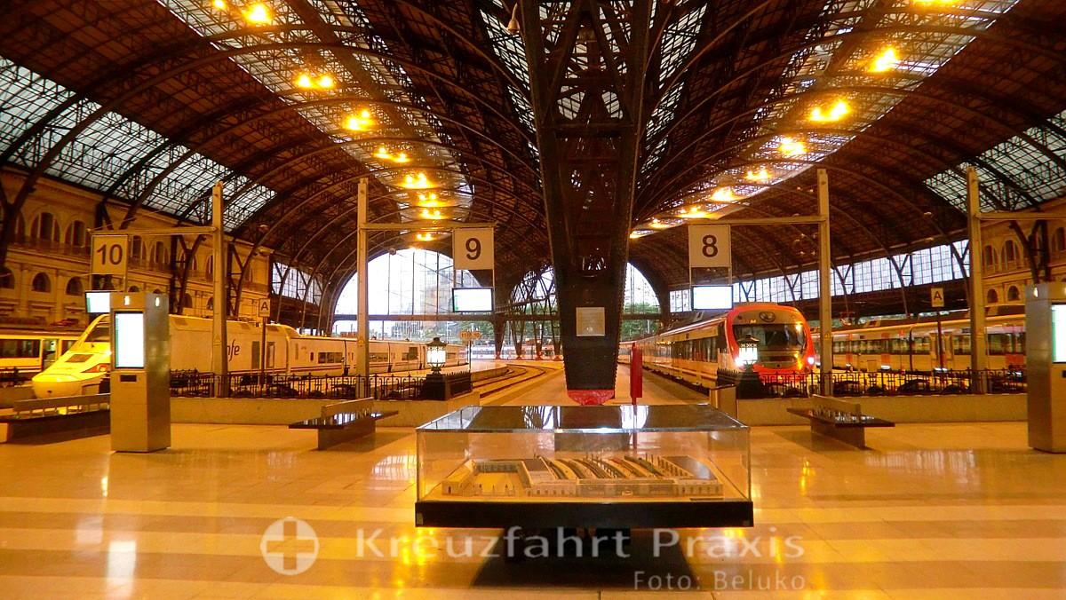 Barcelona - Bahnhof Barcelona-Sants