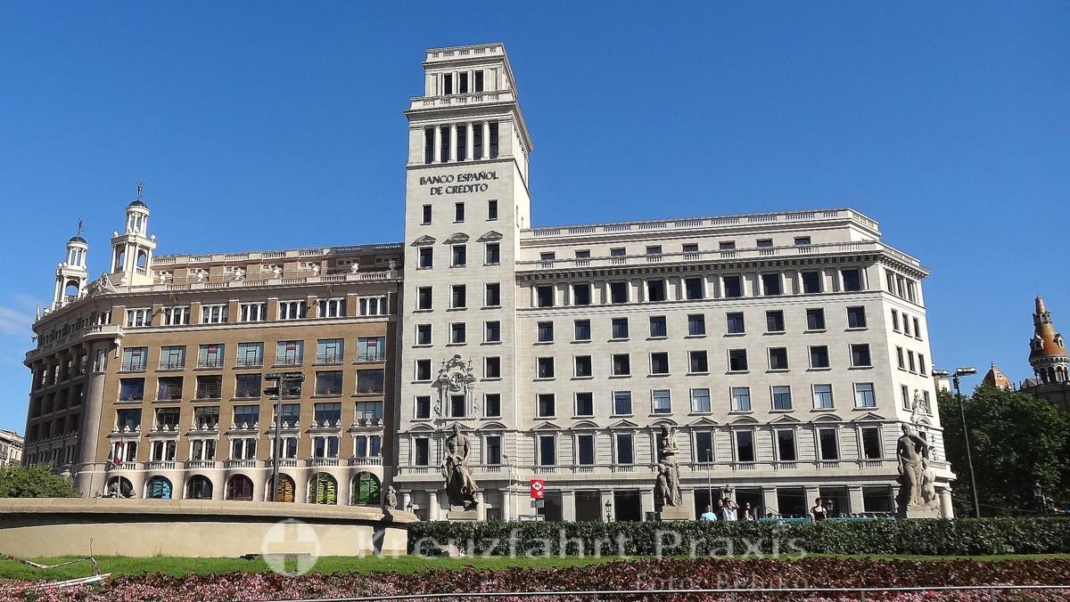 Barcelona - Bürohaus an der Plaça de Catalunya