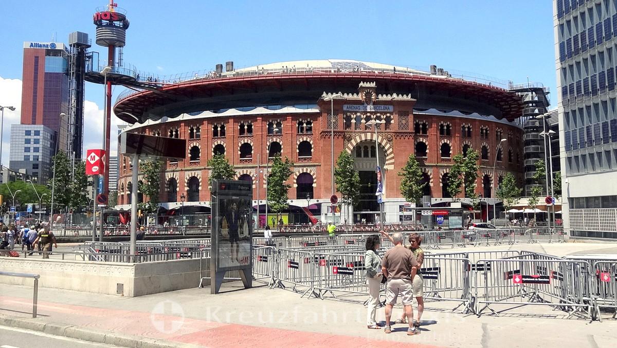 Barcelona - Plaça d'Espanya - Las Arenas Shopping Center