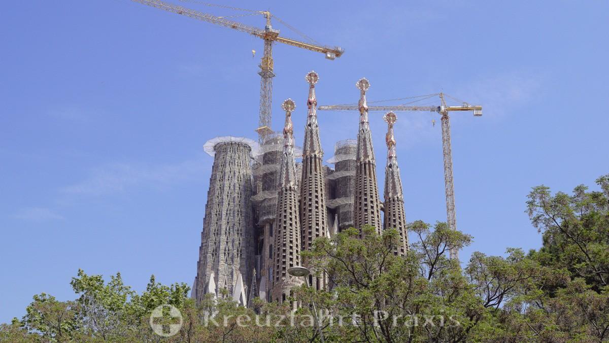Der Bau der Sagrada Familia geht voran