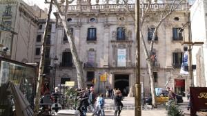 Barcelona - La Rambla - Palau de la Virreina