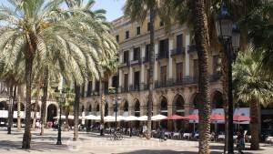 Barcelona - die Plaza Reial
