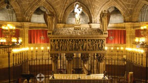 Barcelona - Cathedral - Crypt of St. Eulalia