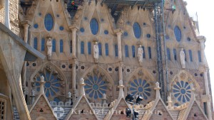 Basilika Sagrada Familia - Fassadendetail
