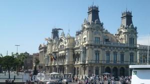 Barcelona - Standort der Hafenverwaltung