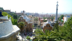 View of Barcelona from Parque Güell