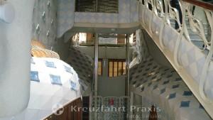 Barcelona - Staircase of Casa Batlló