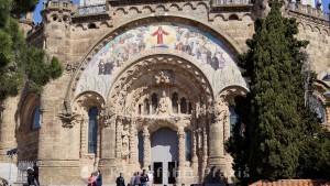 Basilika Sagrat Cor - Ebene der Krypta