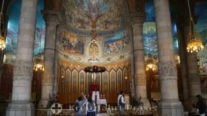 Basilika Sagrat Cor - die Krypta