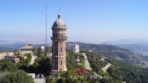 Tibidabo - Torre de dos Aiguees de dos Rius