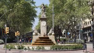 Passeig de Sant Joan - die Font de Hercules