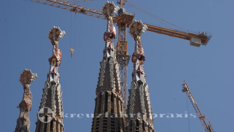 Barcelona - Ewige Baustelle Sagrada Familia