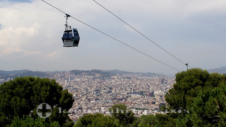 Barcelona - Telèferic de MontjuÏg