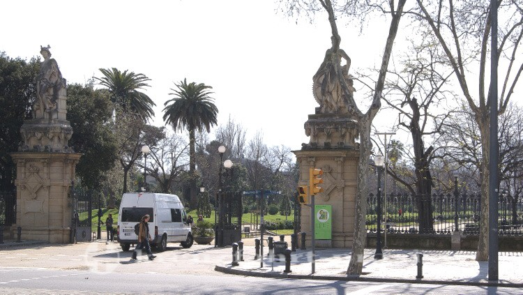 Einfahrt Park de la Ciutadella