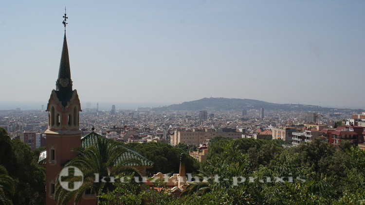 Barcelona - panoramic view from Parque Güell