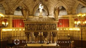 Krypta der Kathedrale