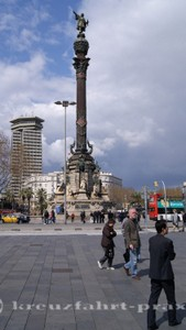 Die Kolumbussäule von Barcelona