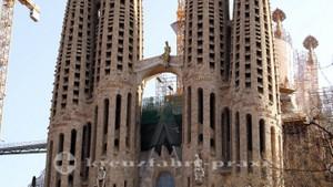 Sagrada Familia - Detail der Türme