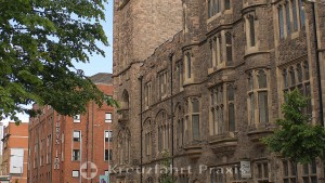 Belfast - Seitenfront des Presbyterian Assembly Building