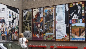 Murals im Cathedral Quarter