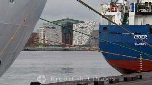 Belfast - das Titanic Museum
