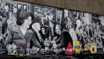 Belfast - Mural im Cathedral Quarter