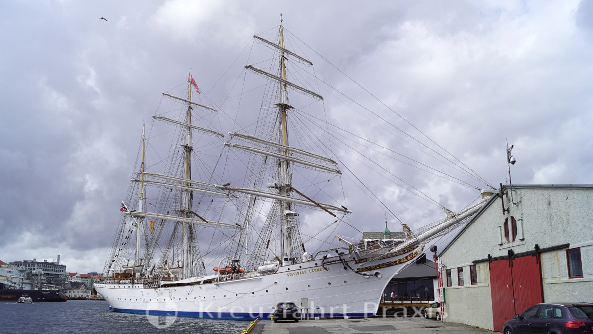 Sail training ship Statsraad Lehmkuhl