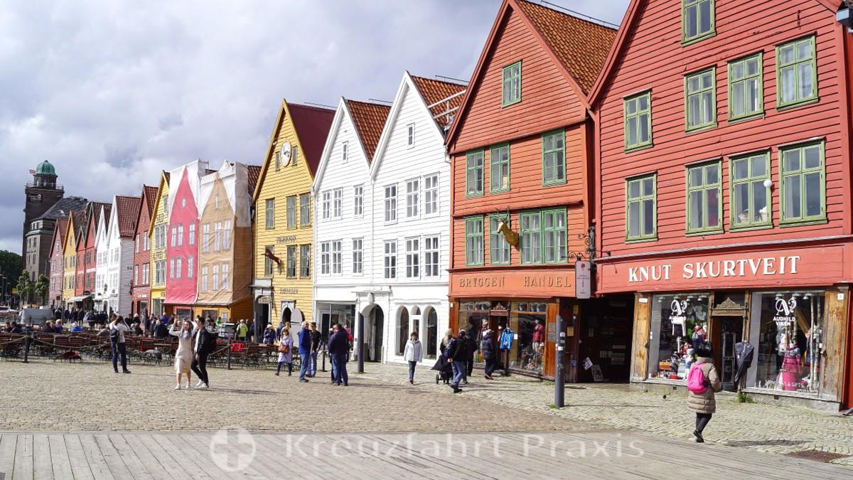 UNESCO Weltkulturerbe Bryggen