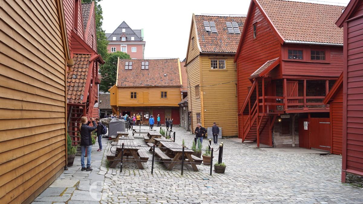Bergen - UNESCO World Heritage Site Bryggen