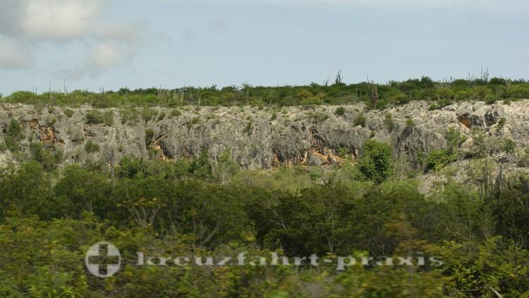 Pittoreske Landschaft im Norden von Bonaire