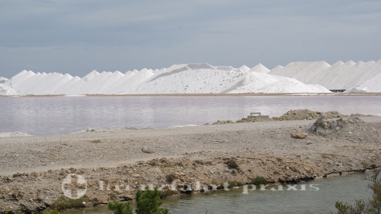 Bonaire - In Salinen gewonnenes Salz