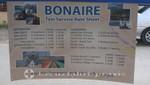 Bonaire - Festgelegte Taxipreise