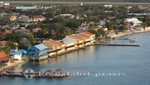 Bonaire - Kralendijk - Häuser neben der Pier