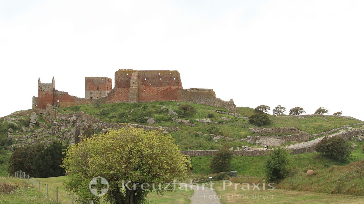 Bornholm - Hammershus castle ruins