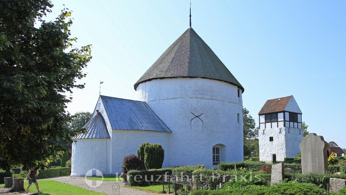 Bornholm - the Nylars round church