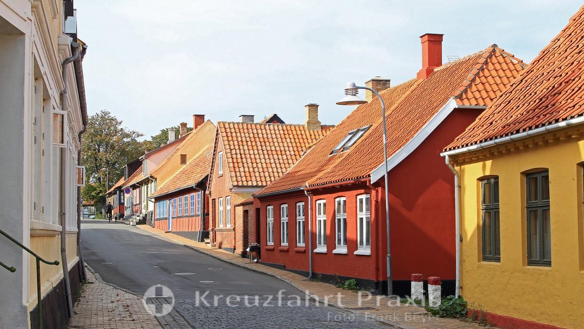 Bornholm Street in Allinge