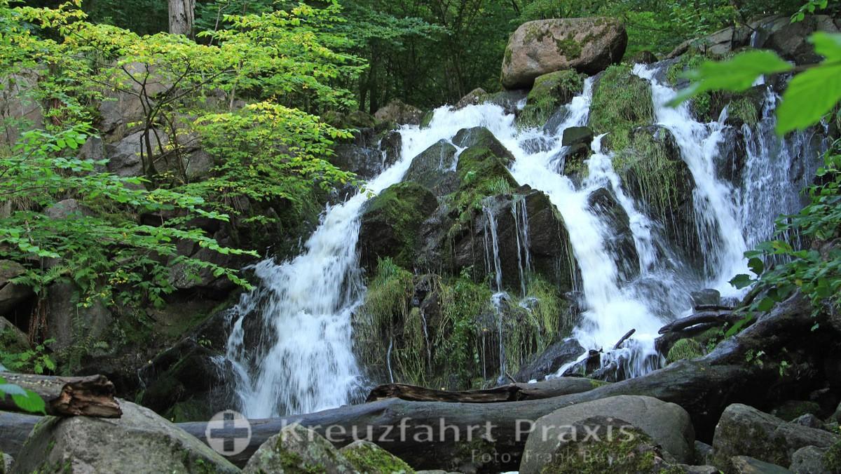 Bornholm - Døndalen waterfall