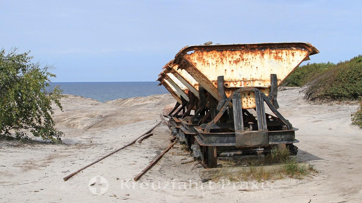 Bornholm - Kultippen - reminiscence of lignite mining