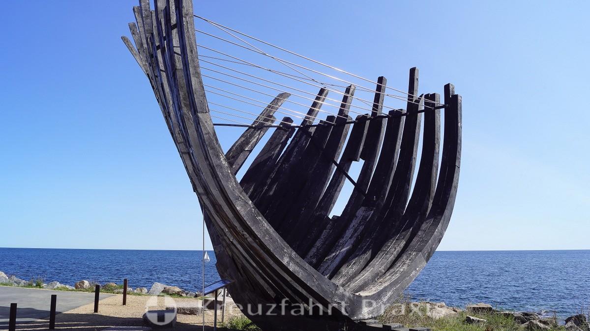 Svaneke - Fragments of the three-masted barque Svanen