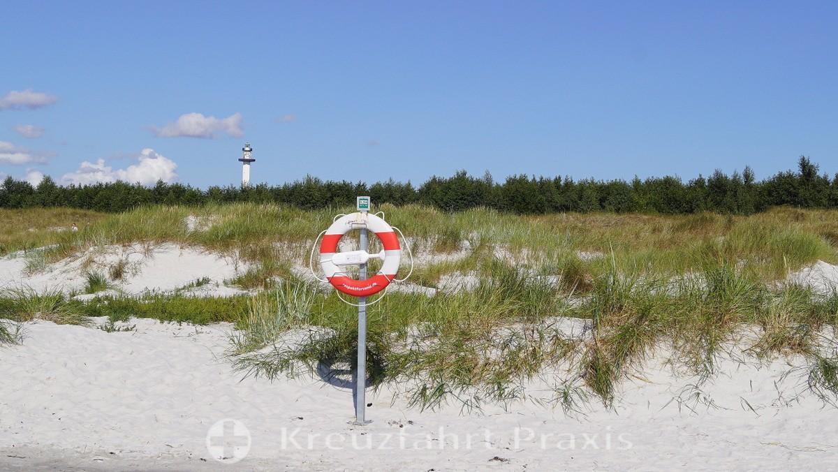 Bornholm - beach at Dueodde